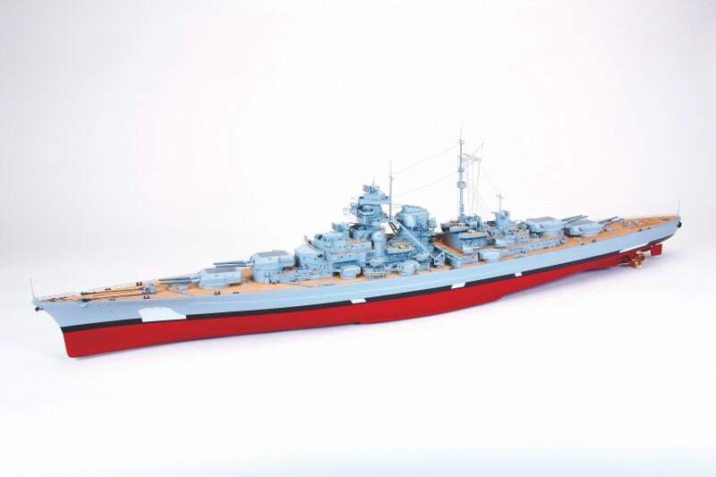 Navomodel GRAUPNER Bismarck ARTR fara camuflaj