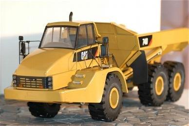 KIT PROFESIONAL Wedico CAT 740 - Articulated Dumper Truck , scara 1:14.5