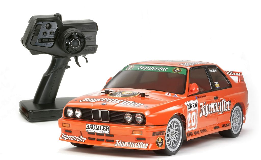 Automodel electric RTR on-road Tamiya XBS BMW M3 Jagermeister 2,4 GHz