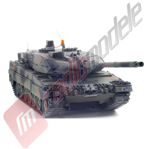 Tanc Radiocomandat Tamiya Leopard 2 A6 Full Option Scara 1:16 (KIT)