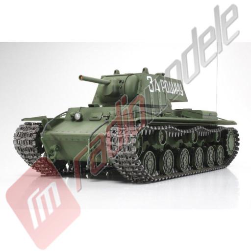 Tanc Radiocomandat Tamiya Russian Heavy tank KV-1 Scara 1:16