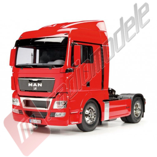 Kit autocamion 1:14 RC Tamiya MAN TGX 18.540 4x2 XLX RED EDITION