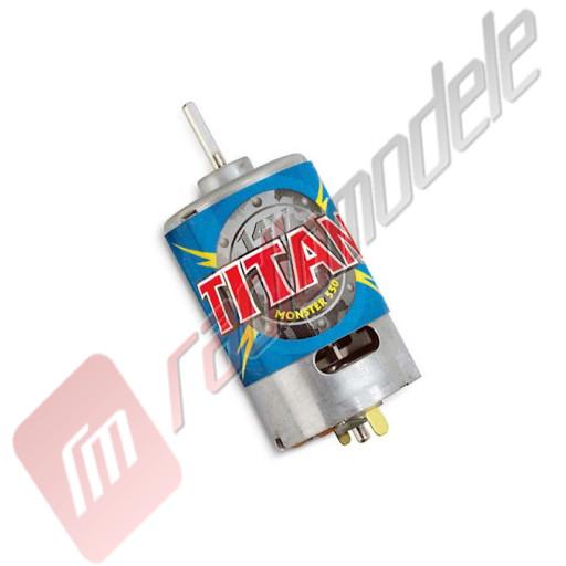 Motor electric TITAN 550 pentru automodele TRAXXAS E-REVO, TRAXXAS E-MAXX