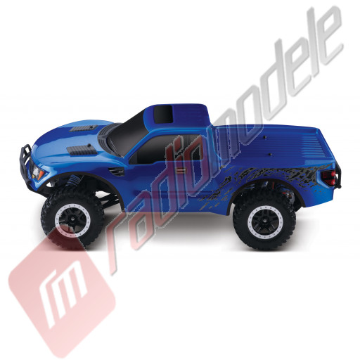 Automodel TRAXXAS Ford F-150 SVT Raptor, 2.4GHz TQi, WATERPROOF, acumulator si incarcator 12v incluse!