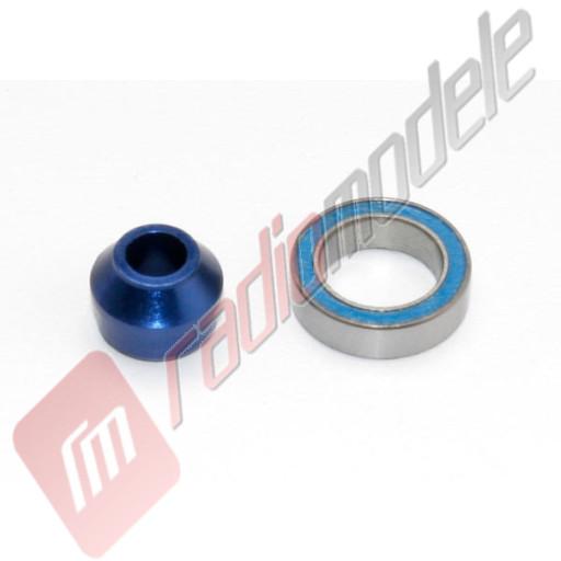 Adaptor rulment aluminiu si rulment 10x5x4mm automodel TRAXXAS Slash 4x4, Stampede 4x4