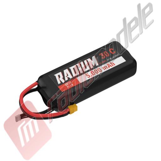 Acumulator Brainergy Radium LiPo 3S1P 11.1V 5000mAh 30C XT90