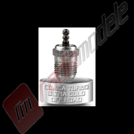 Bujie rece Novarossi 6 Turbo Gold Lung Ultra (Medium) - set 5 bucati