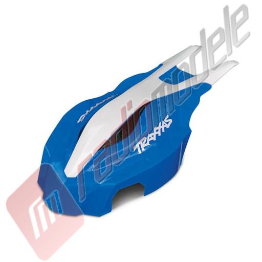Carcasa frontala, albastru/alb, pentru drona Traxxas Aton