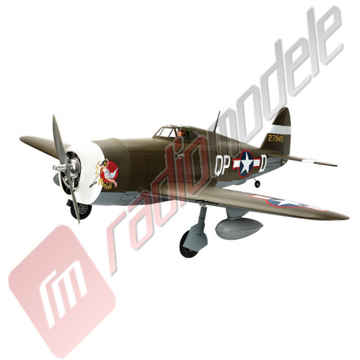 Aeromodel Hangar 9 P-47D-1 Thunderbolt 60 ARF