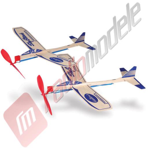 Kit doua avioane cu elice Sky Streak Motorplane Twin