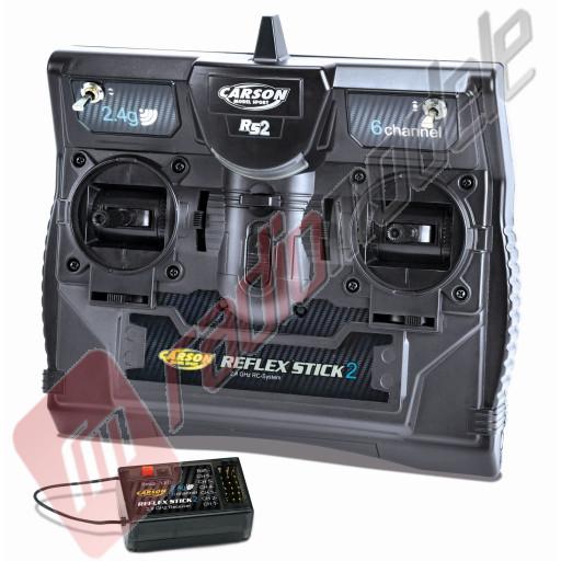 Telecomanda Carson FS Reflex Stick II 2.4 GHz 6canale, analogica