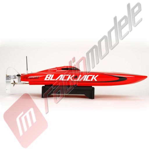 Barcuta Teleghidata Blackjack 29 V3 Brushless Catamaran RTR