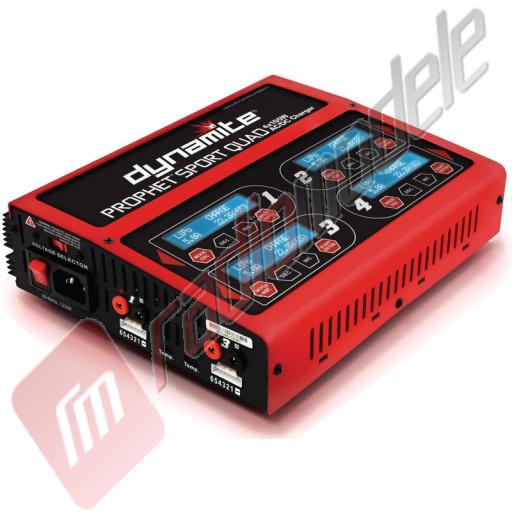 Incarcator universal modelism Prophet Sport Quad 4 X 100W AC/DC