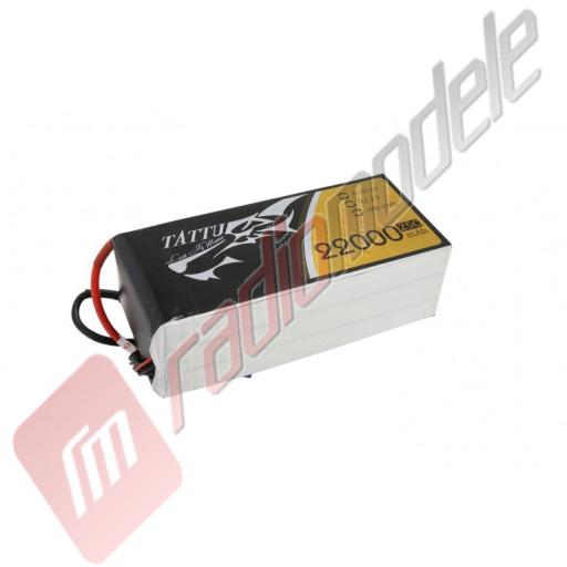 Acumulator TATTU LiPo 6s: 22000mAh 22.2V 25C, mufa AS150+XT150