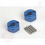 Hex-uri aluminiu 12mm pentru roti, automodele TRAXXAS Slash / Rustler / Stampede / Bandit