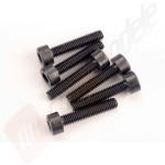 Suruburi hex cap cilindric 3x15mm (6buc), pentru automodele TRAXXAS