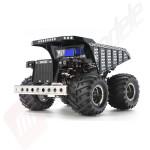 Kit Autocamion basculanta RC Wheelie Tipper body chrome GF-01, scara 1/24