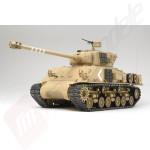 Tanc Radiocomandat Tamiya Super Sherman M-51 Full Option Kit Scara 1:16