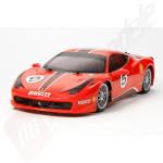 KIT Automodel electric on-road Tamiya Ferrari 458 Challenge (Sasiu TT-02) scara 1/10