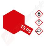 Vopsea pentru plastic TAMIYA ROSU METALIZAT TS-95 (spray 100ml)