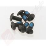 Suruburi hex cu cap buton 2.5x5mm pentru automodele TRAXXAS