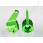 Fuzete fata (Stg+Dr) aluminiu verde pentru automodele TRAXXAS Stampede, Rustler, Bandit
