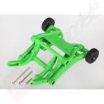 Wheelie bar verde - automodele Traxxas Rustler/Slash/Stampede/Bandit 1/10
