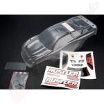 Caroserie nevopsita cu autocolante pentru automodele TRAXXAS Rustler