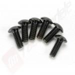 Suruburi hex buton 4x12mm, automodele TRAXXAS Slash / Rustler / Stampede / Bandit