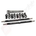 Kit Toe link aluminiu fata sau spate(2buc), pentru automodele TRAXXAS 1/10