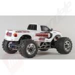 Automodel benzina FG Monster-Truck 4WD, RTR, caroserie alba