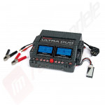 Incarcator digital dual Graupner Ultra Duo Plus 60 - alimentare 12v CC / 220v AC
