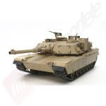 Tanc Radiocomandat Tamiya US M1A2 Abrams Full Option, Kit, Scara 1:16