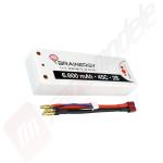 Acumulator Brainergy LiPo 2S HardCase 7.4V 6600mAh 45C mufa T (DEANS)