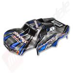 Caroserie vopsita albastru, pentru automodel LaTrax SST
