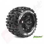 "Roti complete Louise RC MT-PIONEER pentru automodele monster truck scara 1/8 Traxxas Style Bead 3.8"", hex 17mm, offset 0"
