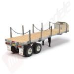 Remorca pentru camion Tamiya 1/14: FLATBED TRAILER