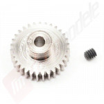 Pinion otel nichelat Robinson Racing 31T / 48DP, optional pentru TRAXXAS 1/10