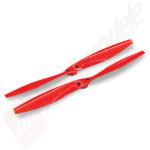 Set elici rosii(2), pentru drona Traxxas Aton