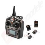 Radiocomanda Spektrum DX9 DSMX - 9 canale 3 receptoare incluse AR8000, AR610, AR400 si module de telemetrie TM1000