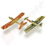 """Kit de asamblare 2 planoare """"Hero Twin Pack"""" - contine 2 planoare balsa 305mm, Reverso and DareDevil"""