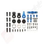 Set elemente upgrade din aluminiu pentru directie, automodele TAMIYA: TT-02
