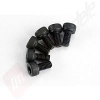 Suruburi hex 3x6mm (6buc), pentru automodele TRAXXAS 1/10