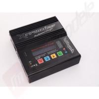 Incarcator digital HobbyTech DUAL 6 - alimentare 12v / 220v