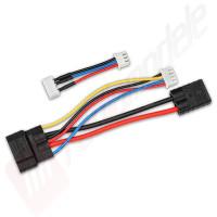 Cablu adaptor incarcare baterii LiPo 2S si 3S cu conector TRAXXAS ID