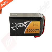 Acumulator TATTU LiPo 6s: 30000mAh, 25c, 22.2v, mufa AS150+XT150