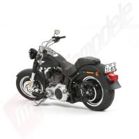 KIT macheta motocicleta TAMIYA Harley Davidson FLSTFB FAT BOY® LO, scara 1/6