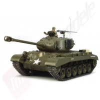Tanc Radiocomandat Tamiya M26 PERSHING T26E3 Full Option Scara 1:16