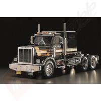 Kit autocamion TAMIYA 1:14 RC US Truck King Hauler - BLACK EDITION