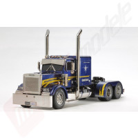 Camion teleghidat Semi-Trailer TAMIYA 1:14 RC US Truck Grand Hauler complet asamblat - ready to run!